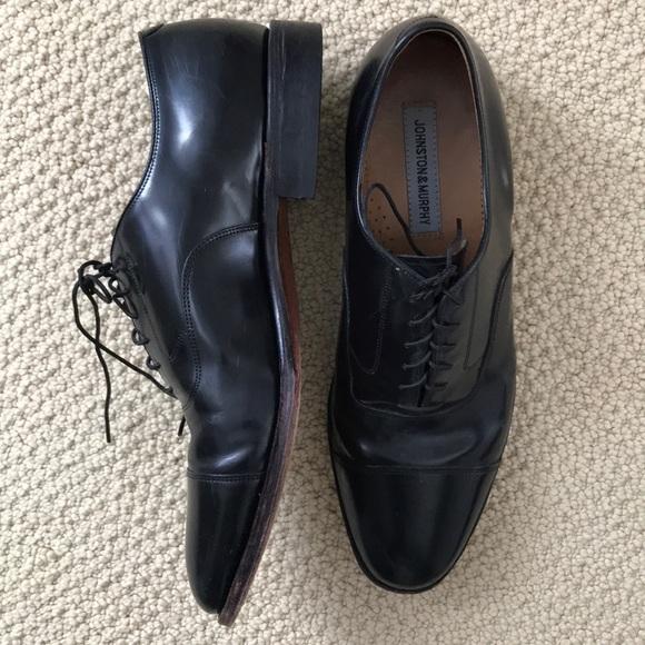 Johnston Murphy Shoes Johnston Murphy Black Dress 12 Poshmark